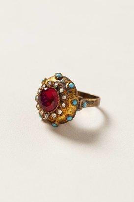 Anthropologie Cerise Urchin Ring