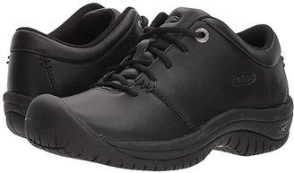Keen PTC Oxford (Black) Women's Industrial Shoes