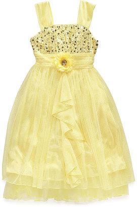 Sequin Hearts Girls' Sparkle Dress