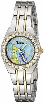 Disney Women's TK2008 Tinkerbell Two-Tone Bracelet Watch $34.99 thestylecure.com