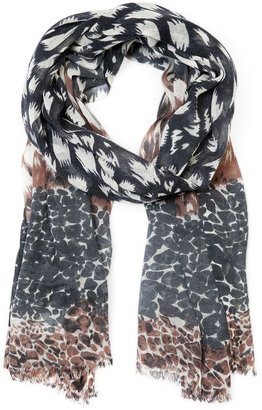 MANGO TOUCH - Multi-print foulard