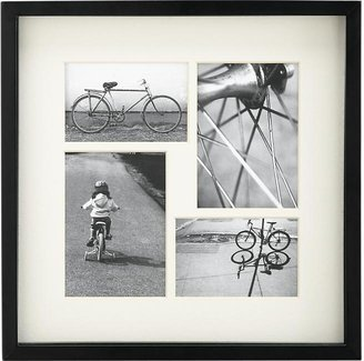 Crate & Barrel Structure 4-Photo 4x6/5x7 Wall Frame