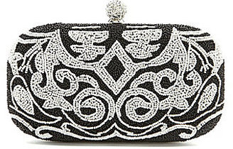 Kate Landry Mosaic Bead Frame Clutch