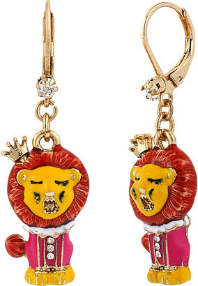 Betsey Johnson At The Zoo Drop Earring