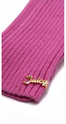 Juicy Couture Pop Top Mittens