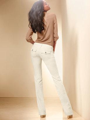 Victoria's Secret Low Five Flap-pocket Bootcut Pant in Corduroy
