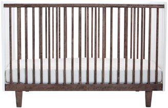 Oeuf Rhea Crib - Walnut-54 x 30.5 x 37