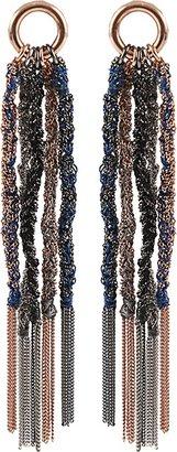 Carolina Bucci Lucky Silk Tassel Earrings