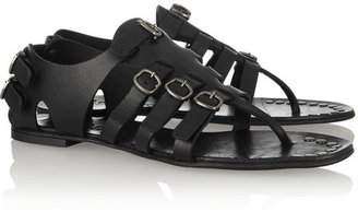 Pedro Garcia Galatea buckled leather gladiator sandals