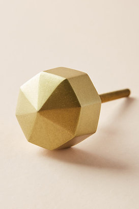 Anthropologie Faceted Ory Knob By in Brown Size S