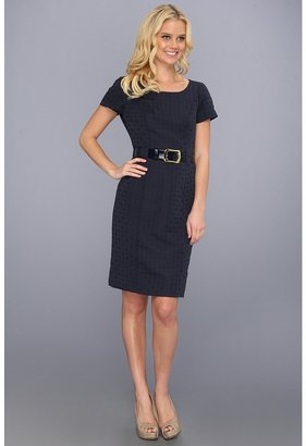 Tahari by Arthur S. Levine Tahari by ASL - Dan Dress 3229M512 (Navy) - Apparel