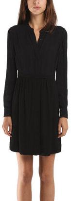 A.L.C. Asbury Dress in Black/Navy
