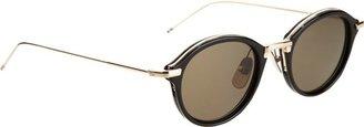 Thom Browne Round Sunglasses-Colorless