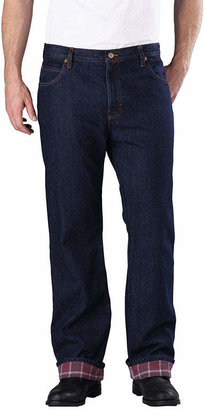 Dickies Straight-Fit Flannel-Lined Jeans