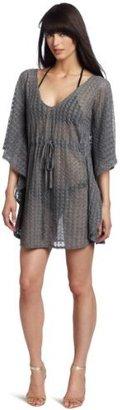 Echo Women's Crochet Butterfly Tunic Top