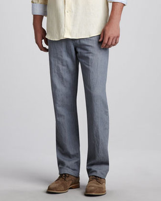 Ermenegildo Zegna Cotton/Linen Pants