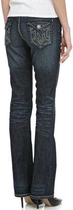 MEK Oaxaca Slim Boot-Cut Jeans, Indigo
