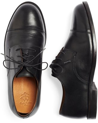 Brooks Brothers Lace-Up Captoes