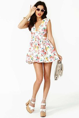 Nasty Gal Fresh Cut Dress