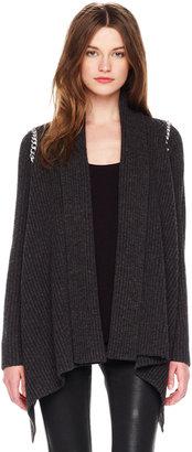 Michael Kors Chain-Detail Open Sweater