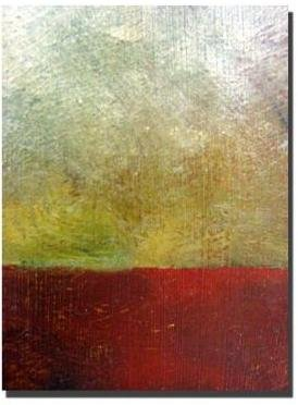 STUDY Trademark Fine Art 35 in. x 47 in. Earth I Canvas Art