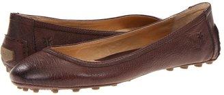 Frye Cassie Ballet (Dark Brown Antique Soft Full Grain) - Footwear