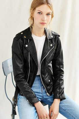 Urban Renewal PeleCheCoco Leather Moto Jacket $275 thestylecure.com