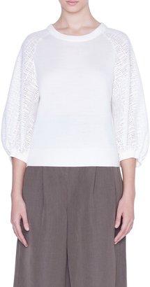 Akris Punto Colorblock Sweater