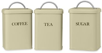 Williams-Sonoma Retro Canisters, Set of 3