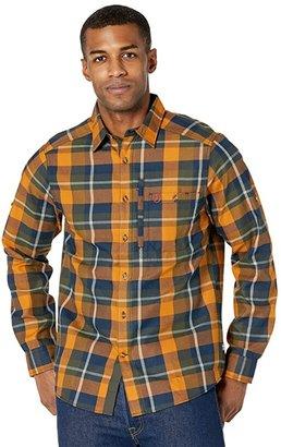 Fjallraven Fjallglim Shirt (Deep Forest) Men's Long Sleeve Button Up