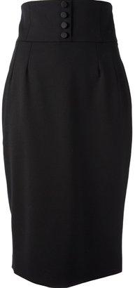 Dolce & Gabbana high waisted pencil skirt