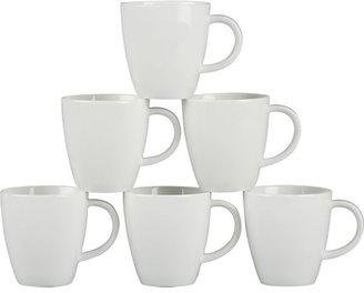 """Crate & Barrel Set of six cups. 3 oz.; 2.5""""dia.x2""""H"""