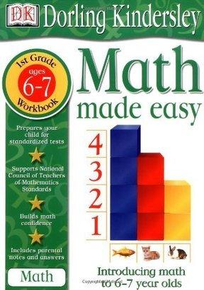 DK Publishing Math Made Easy: 1st Grade