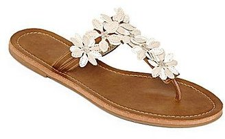 JCPenney Flower T-Strap Sandals