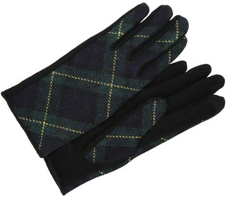 Lauren Ralph Lauren Tartan Touch Glove (Blackwatch/Black) - Accessories