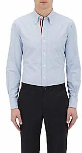 Thom Browne Men's Oxford Cloth Shirt - Blue