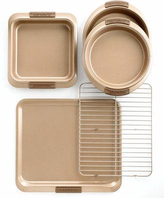 Anolon Advanced Bronze 5 Piece Bakeware Set