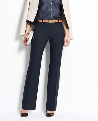 Ann Taylor Tall Curvy Sharkskin Trousers