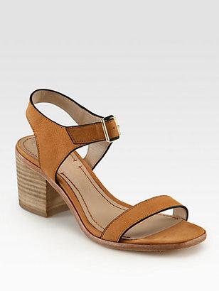 Elizabeth and James Ryann Leather Ankle Strap Sandals