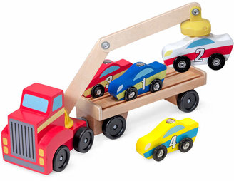 Melissa and Doug Kids' Magnetic Car Loader Toy $19.99 thestylecure.com