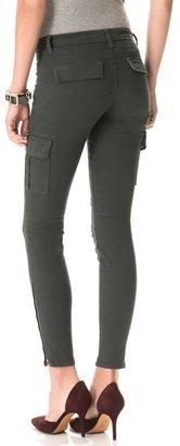 J Brand Grayson Zip Cargo Skinny Pants