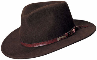 INDIANA JONES Indiana Jones Wool Felt Outback Brim Hat