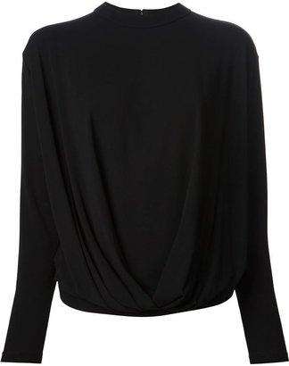Givenchy draped T-shirt
