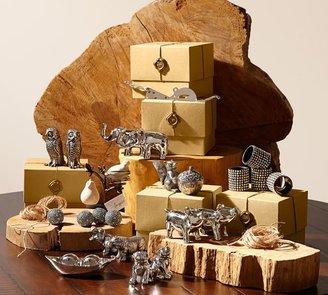 Pottery Barn Bulldog Salt & Pepper Gift Set