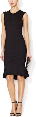 Torn By Ronny Kobo Rosa Paneled Sheath Dress