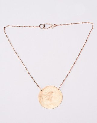 Rose gold necklace