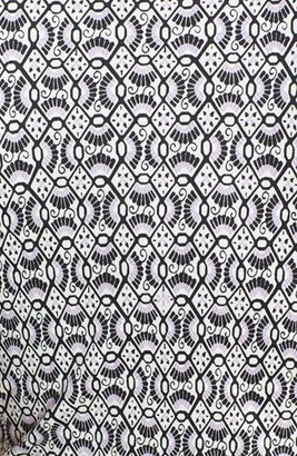 Tory Burch 'Myrtle' Print Silk Shift Dress