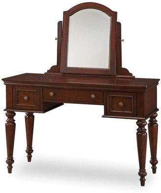 Home styles Lafayette Vanity Table With Mirror & Bench Set