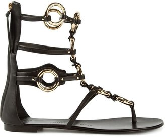 Giuseppe Zanotti Design chain embellished sandals