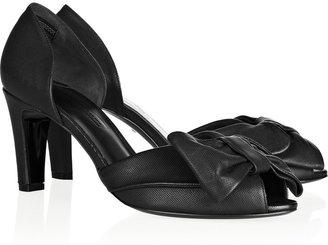Sonia Rykiel Darling bow-embellished leather pumps